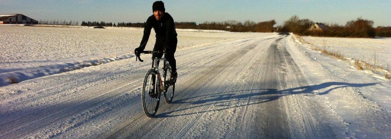 Kold luft gør cyklen tung