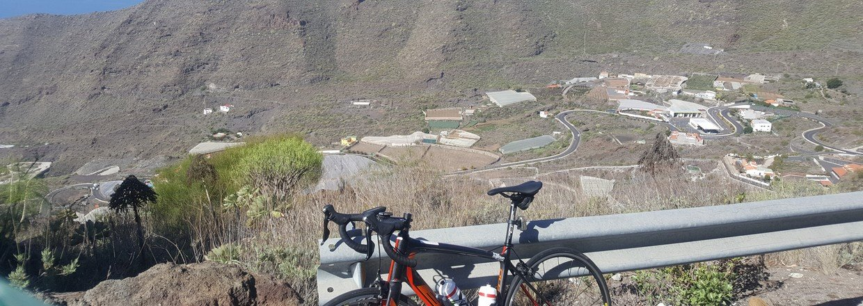 Cykeltræning på Tenerife (Kanariske øer) - Landevej