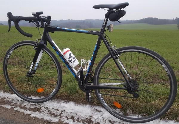 Cross cykel som vinterracer