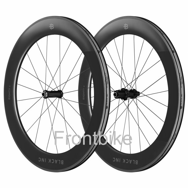 Black Inc Eighty/80 Full Carbon Hjulsæt